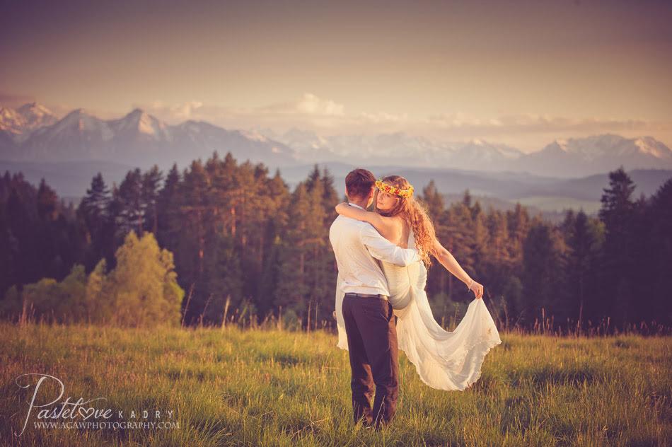 sesja ślubna w górach