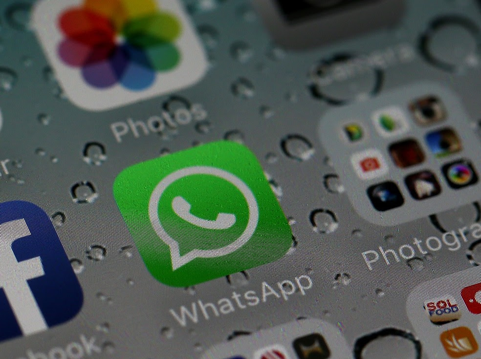 Aplicativos do Facebook e WhatsApp no iPhone (Foto: Justin Sullivan/Getty Images/AFP)