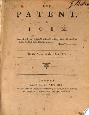 Books Free: Download The patent PDF Free
