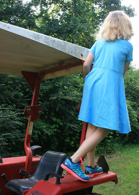 climbing tractor