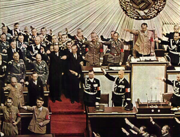 The German Parliament in 1939