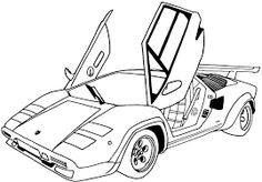 Amazing Araba Boyama Sayfas Araba Boyama Sayfalar Car Coloring