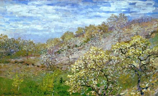 Claude Monet - Árboles en Retoño