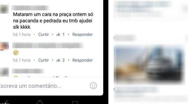 Adolescente confessa assassinato pelo facebook e é detido em Cruzeiro (Foto: Reprodução/Facebook)