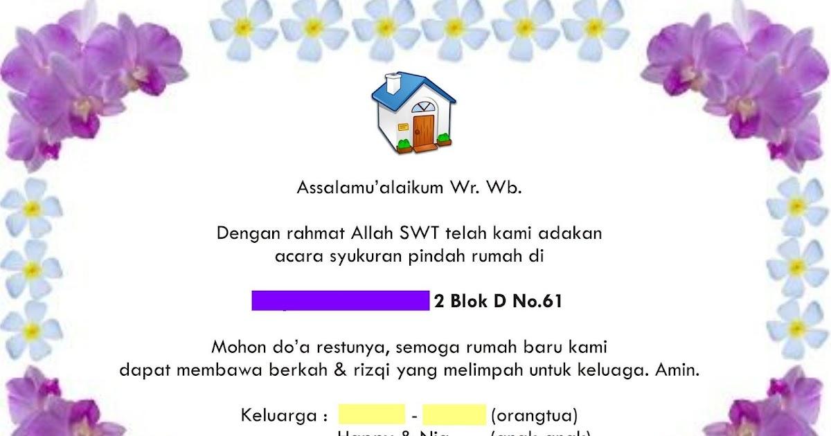 Kata Kata Ucapan Pindah Rumah Baru Situs Properti Indonesia