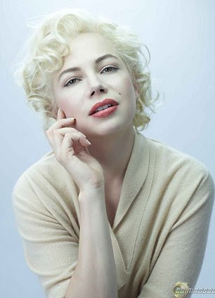Actress Michelle Williams played the late star in the 2011 film My Week With Marilyn