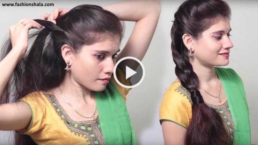 Wedding Hairstyles Indian Wedding Hairstyle Video