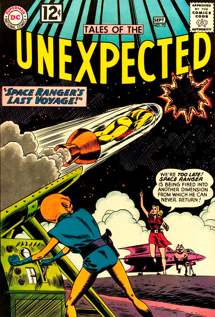 Tales of the Unexpected #72 (DC, 1962) Bob Brown cover