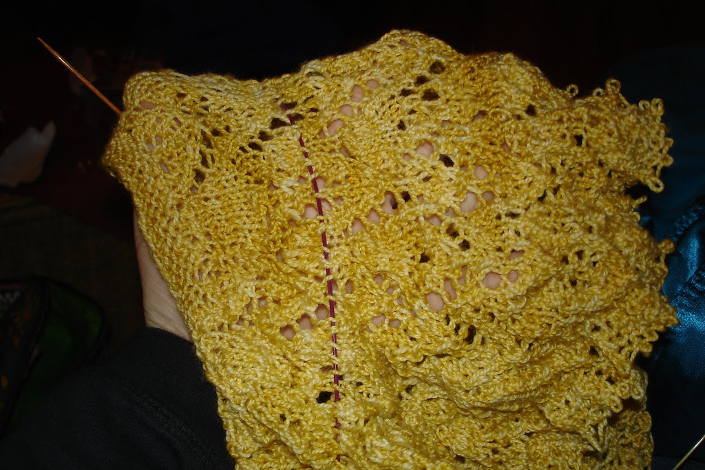 what NOT to do when knitting a sample