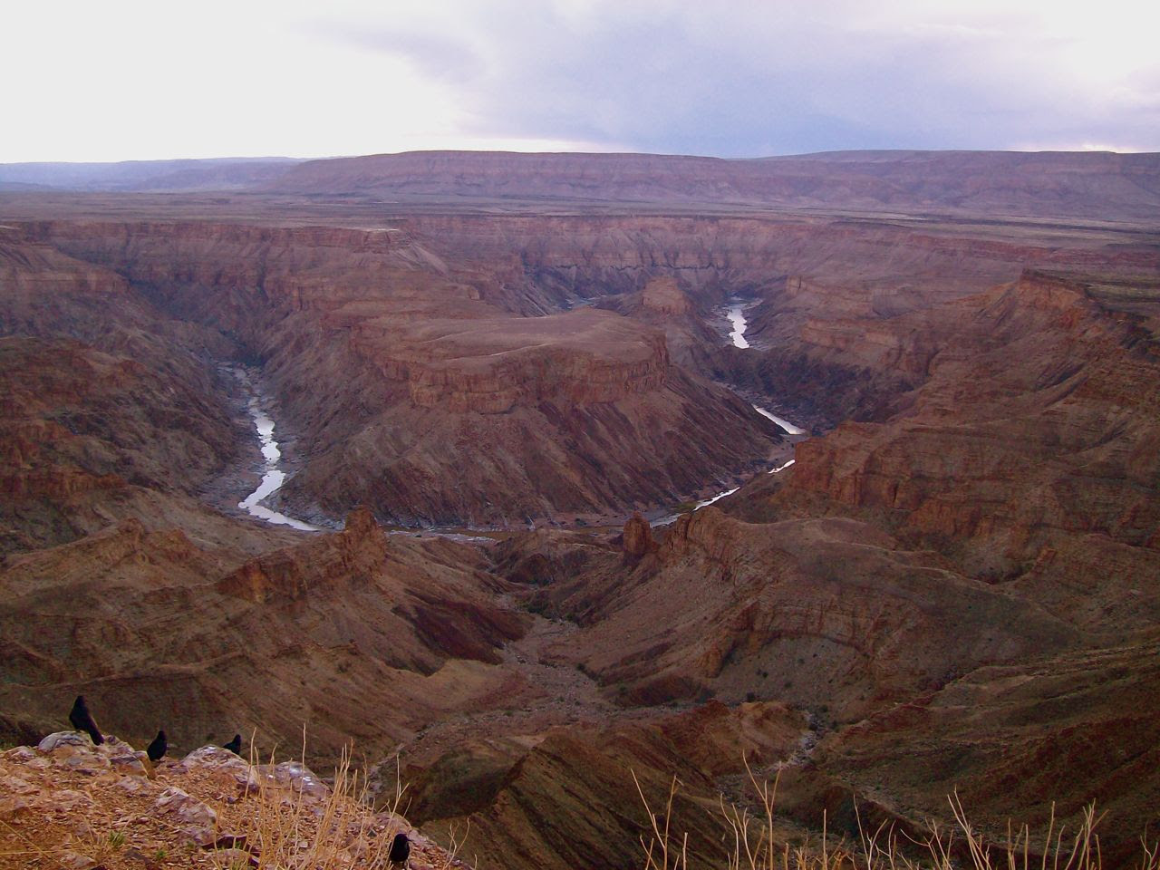 great sites in Africa, Fish River Canyon