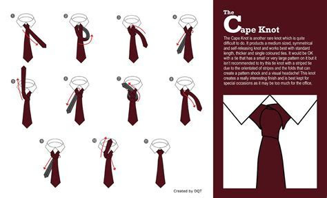 How To Tie a Cape Knot (12 of 21) by DQT   How to tie a