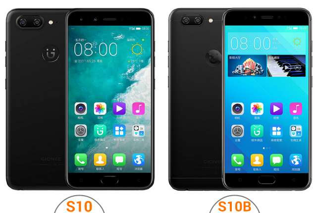 Gionee S10, S10B and S10C with Android 7.0 Nougat Announced