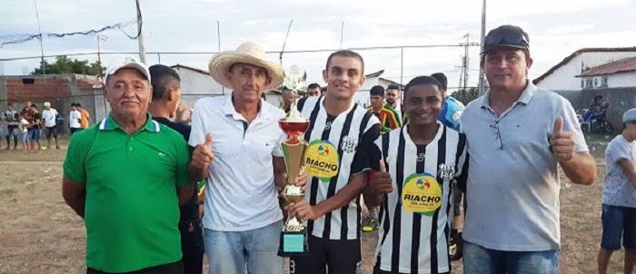 Juventus é o grande campeão da primeira edição do Torneio das Grandes Equipes da Região, em Riacho dos Cavalos