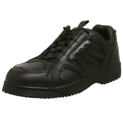 WORX by Red Wing Shoes Men's 5334 Slip Resistant Steel Toe Athletic Oxford,Black,9.5 M
