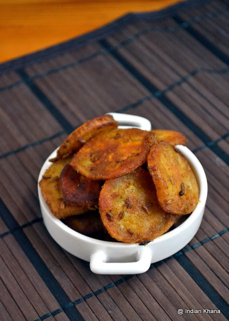 Plantain (Raw Banana) Shallow Fry Vazhakkai Curry