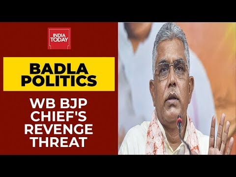 Badla Politics Before Polls? BJP West Bengal Chief Dilip Ghosh Threatens Of Revenge In Facebook Post