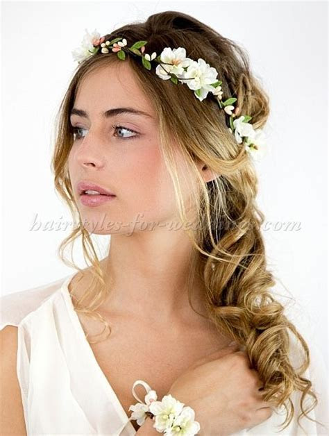 Bridal Headbands Floral Headband For Brides Hairstyles For