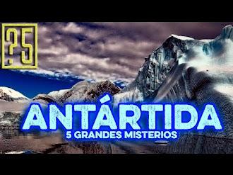 5 Grandes Secretos de la Antártida