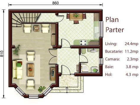 proiecte de case mici cu doua dormitoare  bedroom small