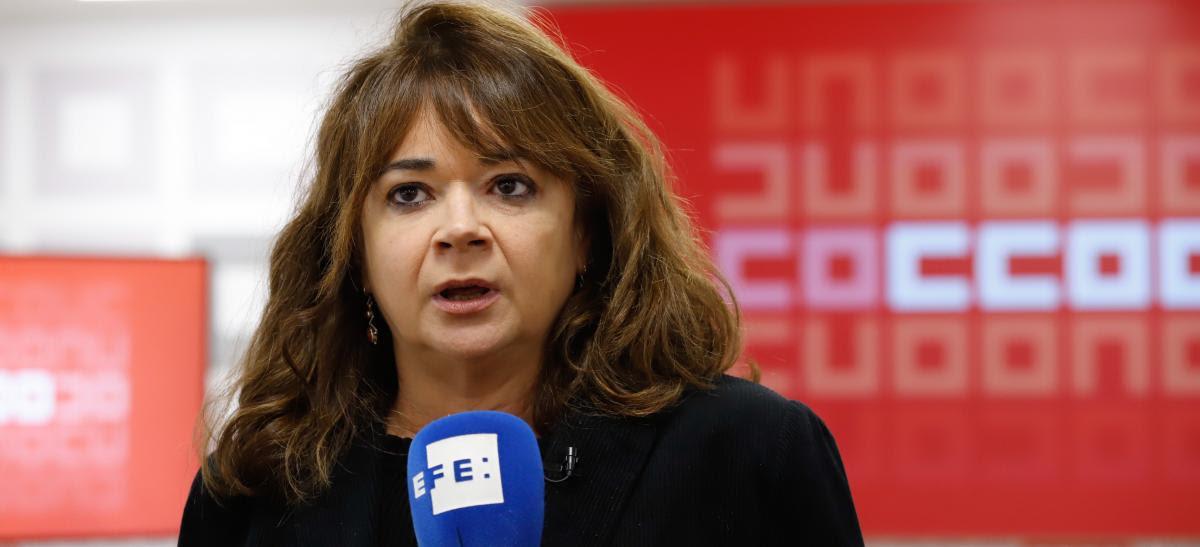 Lola Santillana, secretaria de Empleo de CCOO
