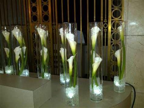 single calla lily centerpiece   Google Search