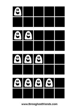 Ghost Ten Frames