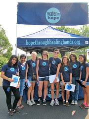 Water = Hope volunteers!