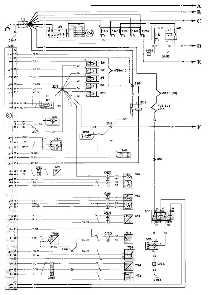 Volvo V70 User Wiring Diagram
