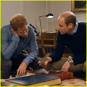 Princes William & Harry Discuss Their Mom's Parenting Style for First Time (Video)