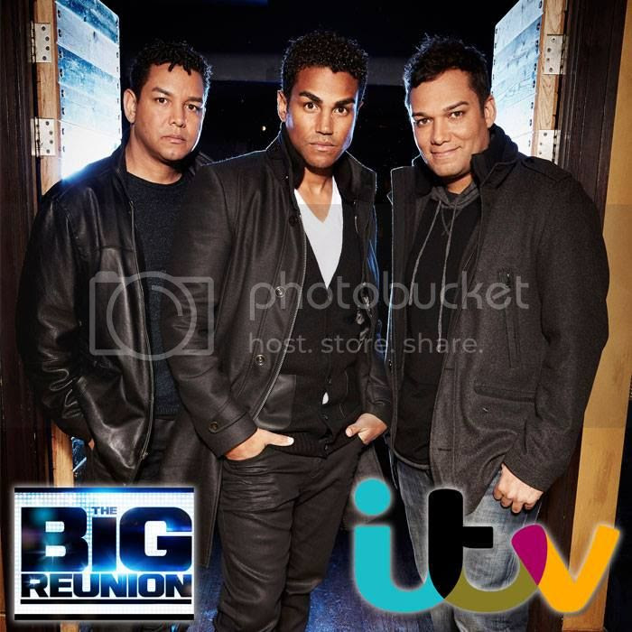 3T promo & rehearsal pics for ITV's 'The Big Reunion'...