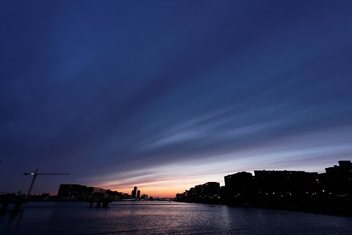 Sunset Amsterdam IJburg