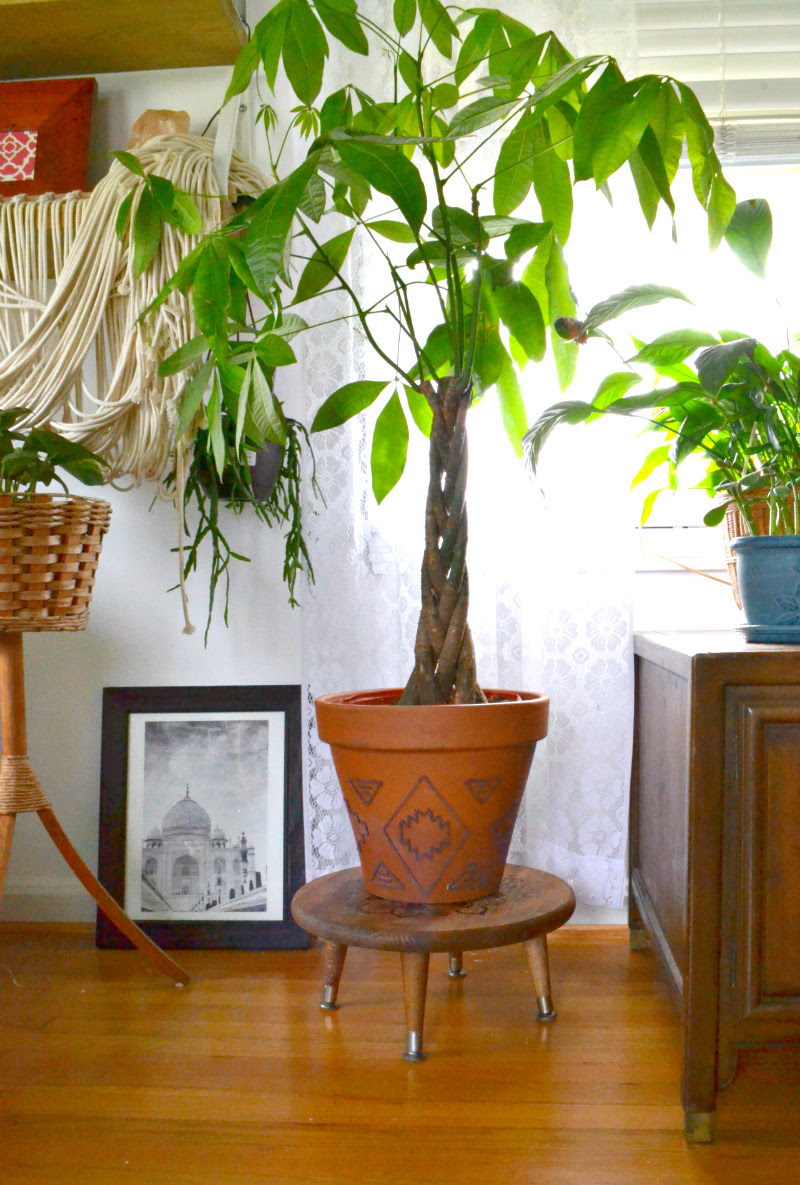 DIY Planter Stand A Designer at Home for Remodelaholic