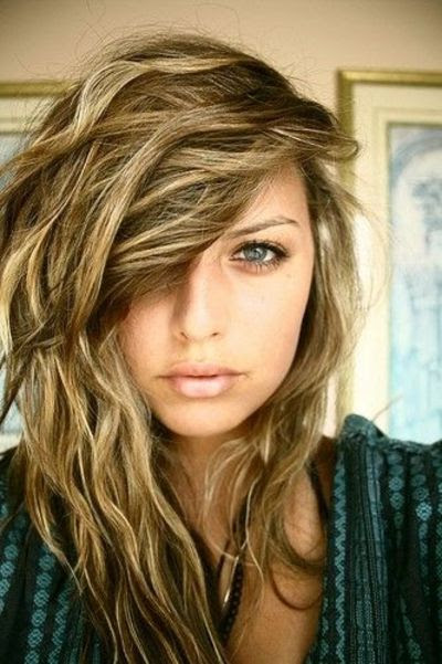 Sandy Blonde + Highlights / make up tips  Juxtapost