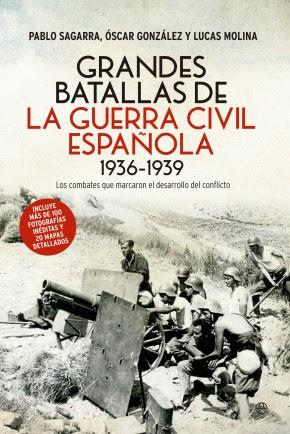 Portada de Grandes batallas de la Guerra Civil española 1936-1939
