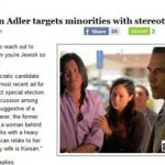 Congressional Candidate Dan Adler and His Racist Ad