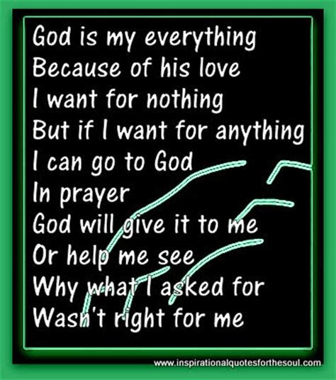 God You Are My Everything Quotes