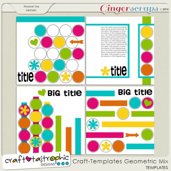 CraftTemplates Geometric Mix