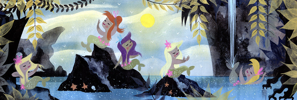 Mary Blair Mermaids