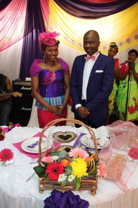 The Tsonga dress from the front! Beautiful lady!   Fashion