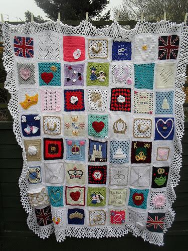 The Royal Wedding Blanket.