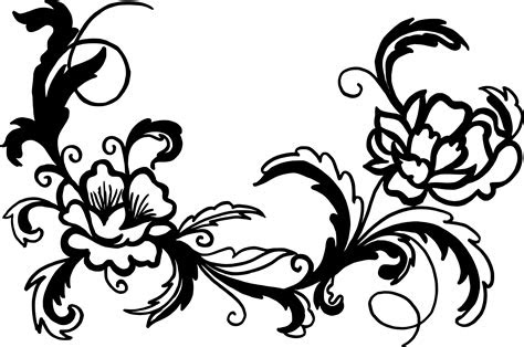 flower ornaments png transparent svg onlygfxcom