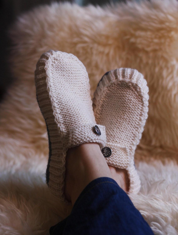 All Seasons Slippers - Pattern