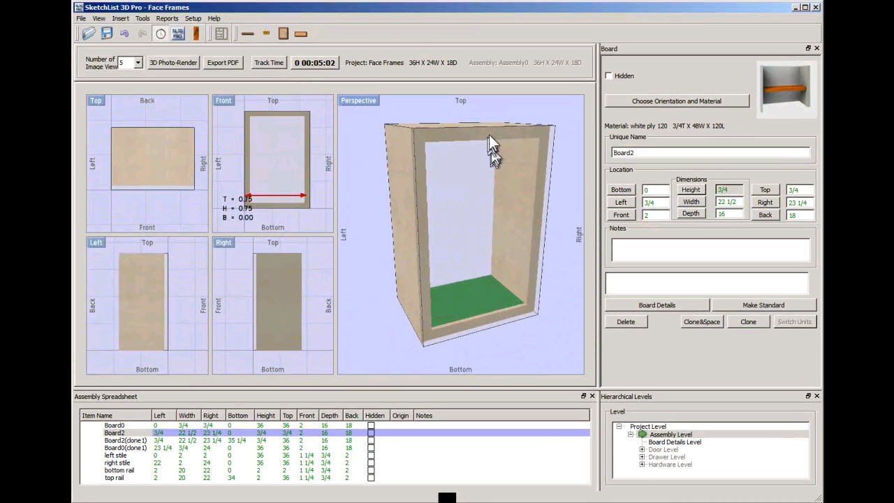 Woodworking Furniture Design Software Ofwoodworking