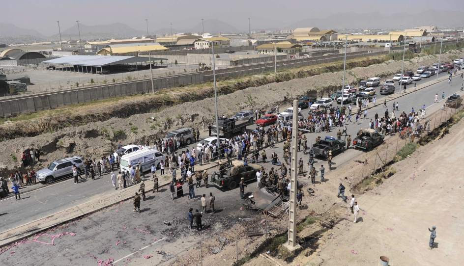 Atentado suicida en el aeropuerto de Kabul