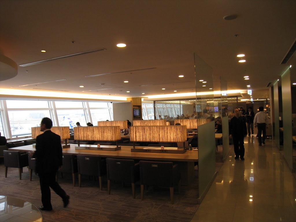JAL Sakura Lounge at Haneda