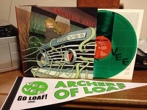 Archers Of Loaf - Vee Vee LP - Green Vinyl w/ Pennant by Tim PopKid
