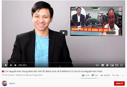 Chân dung Trần Minh Nhật – chủ kênh VoteTV