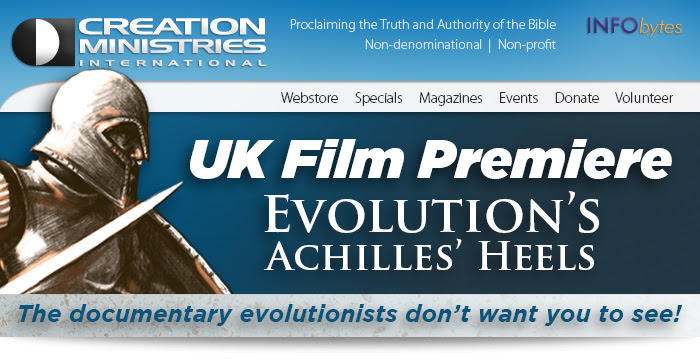 UK Film Premiere … Evolution's Achilles' Heels