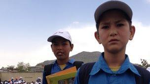An Afghan student