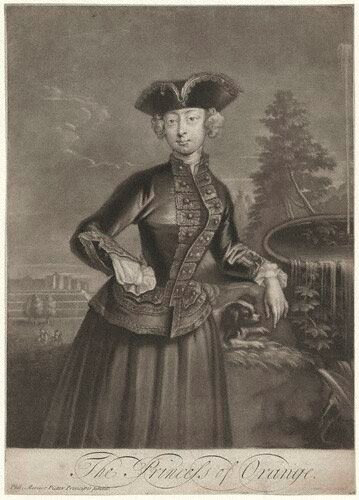 NPG D9253; Anne, Princess of Orange